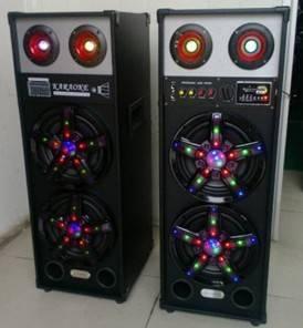 TOWEL Multimedia Speaker 8'' Professional Audio Speaker With Music Dancing light