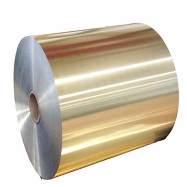 Blue Hydrophilic Finstock Aluminium/Aluminum Foil for Air Conditioner