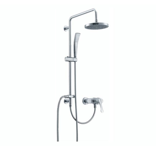 Concealed Shower Faucets Chrome SS Shower Head Set