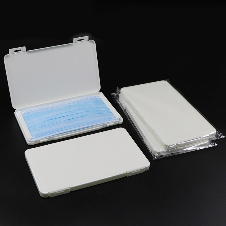 Disposable face mask packaging Case face mask storage box packaging PP
