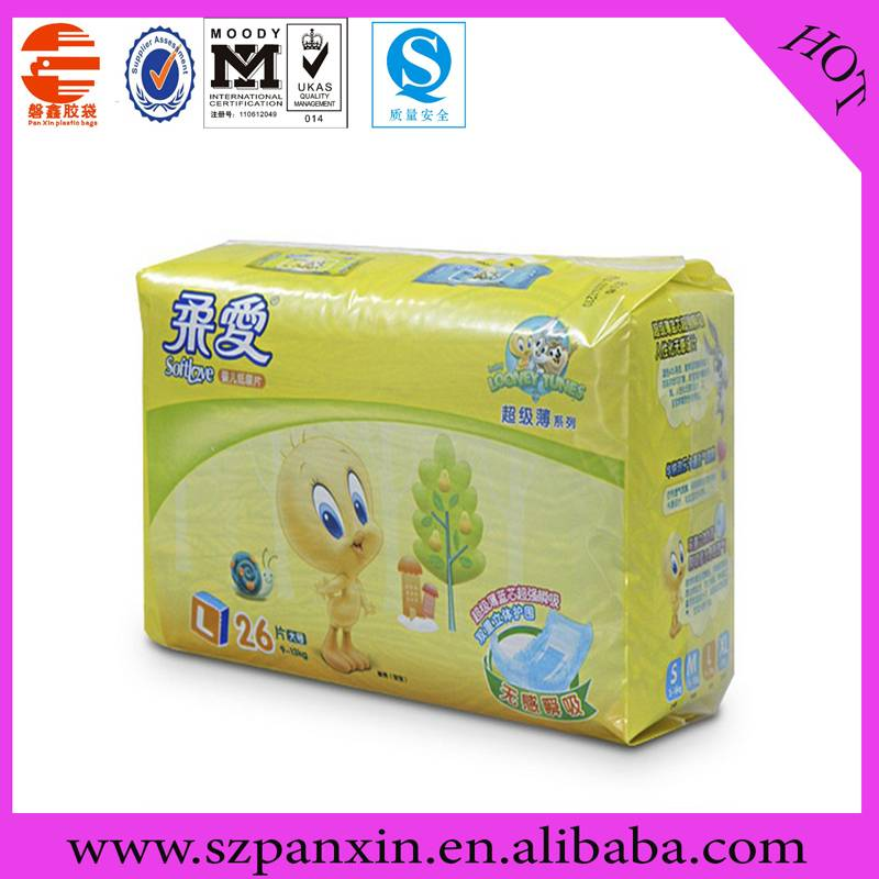 diapers packing