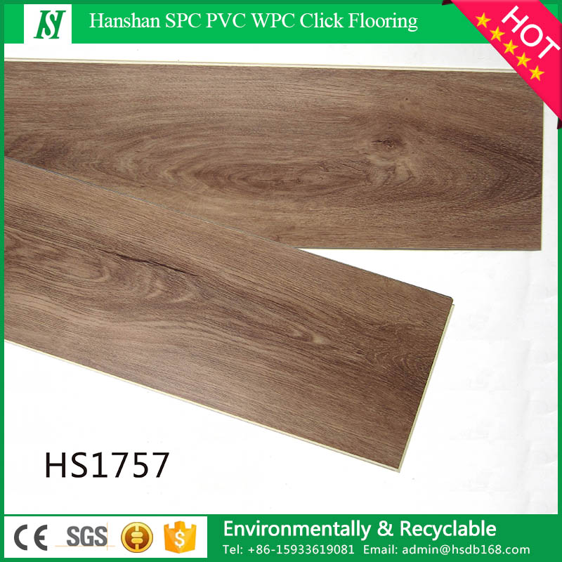 HanShan Indoor Use 4.0mm PVC Vinyl Lock Flooring
