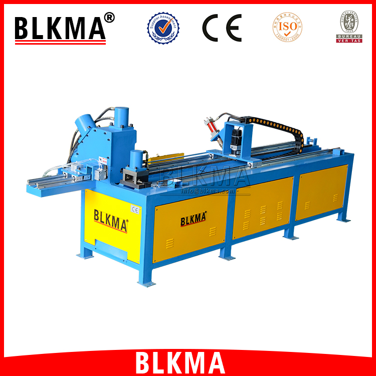 BLKMA CNC Angle Punchine Punching / Cut and Shearing Production Line
