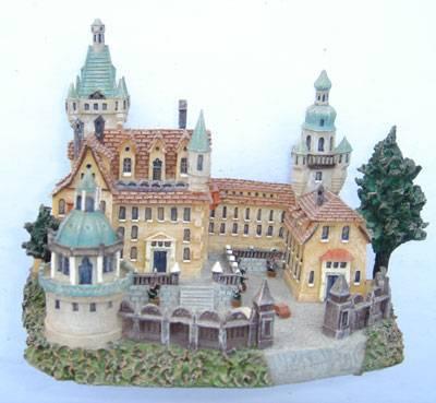 Polyresin Castle Miniature Castle