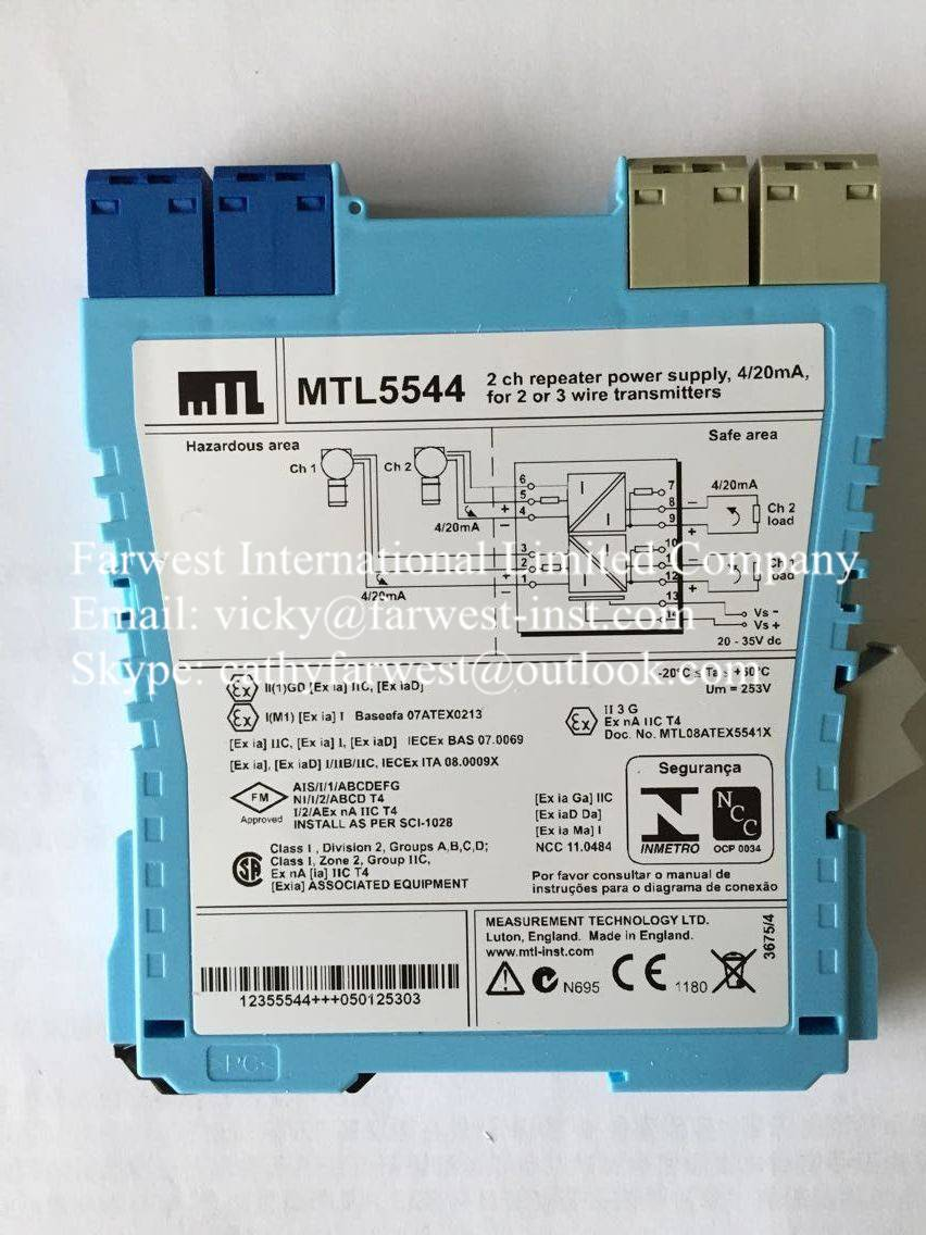 HOT new and original MTL Signal isolator (safety barrier) MTL5544