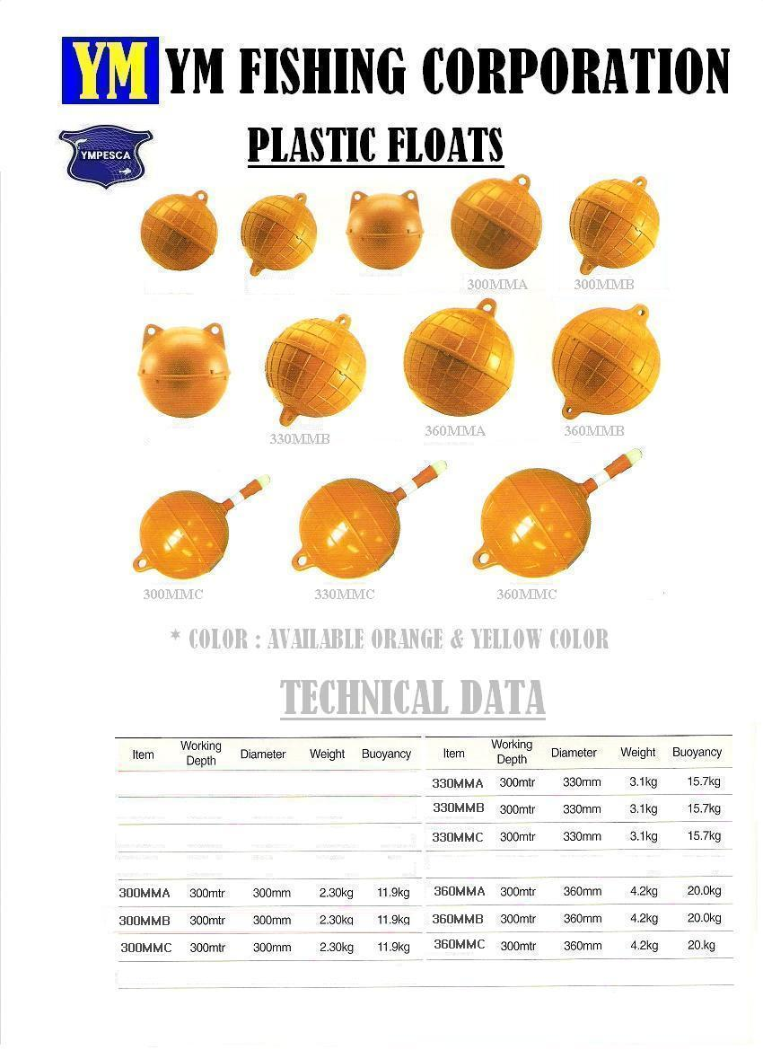 ABS Rigid tuna longline float