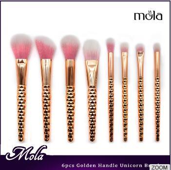 Mola hot selling direct factory price 2017 amazon mini glitter makeup brush