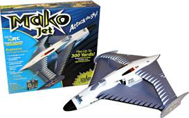 Airplane model(Mako Jet)