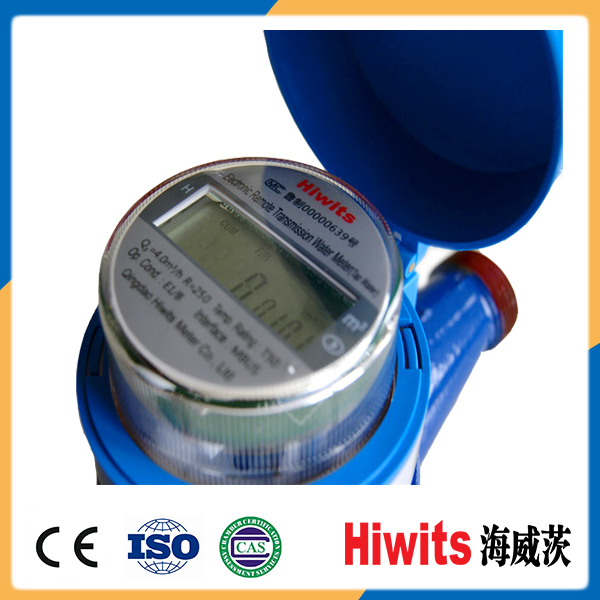 Non-magnetic High Accuracy Modbus Remote Reading 15mm-20mm Smart Water Meter