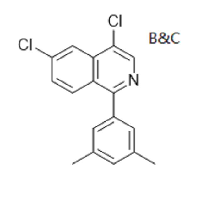 4,6-dichloro-1-(3,5-dimethylphenyl)isoquinoline (cas 1443013-16-8)