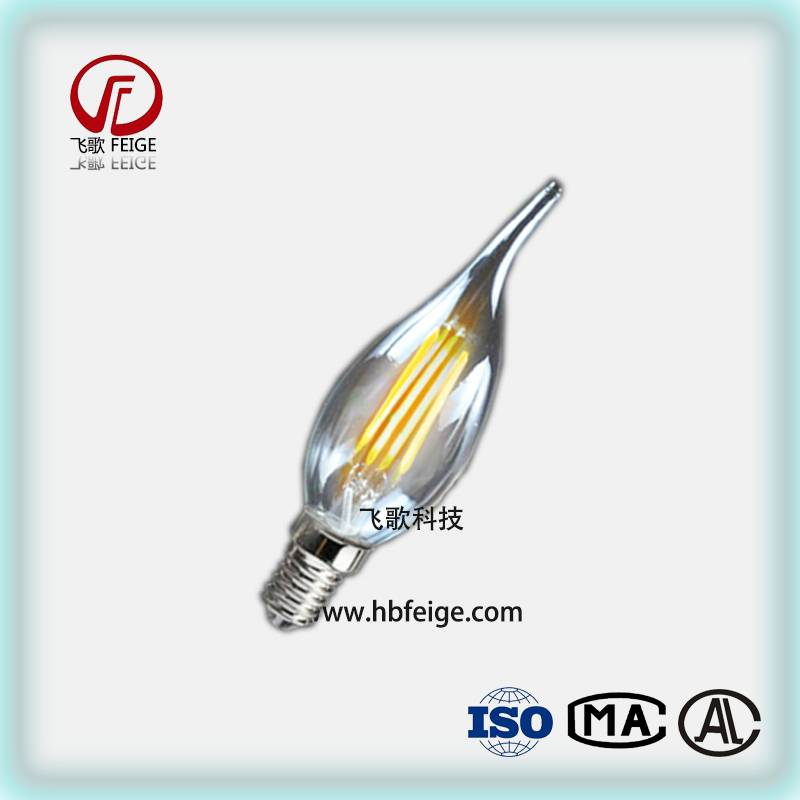 FG-LLW LED Candle bulb 3w 5w Tip bubble tail light bulbs