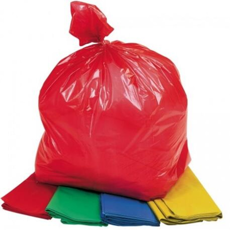 Leakproof Custom Biodegradable Colorful PLA Plastic Garbage Bags
