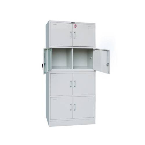 KD storage steel cabinet product glass display cabinet