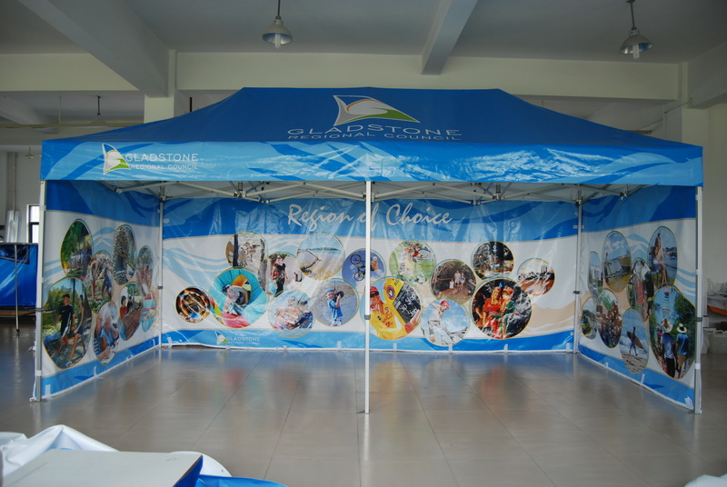 Feng Yushun direct wholesale custom printed promotional LOGO tents Sun four-foot canopy
