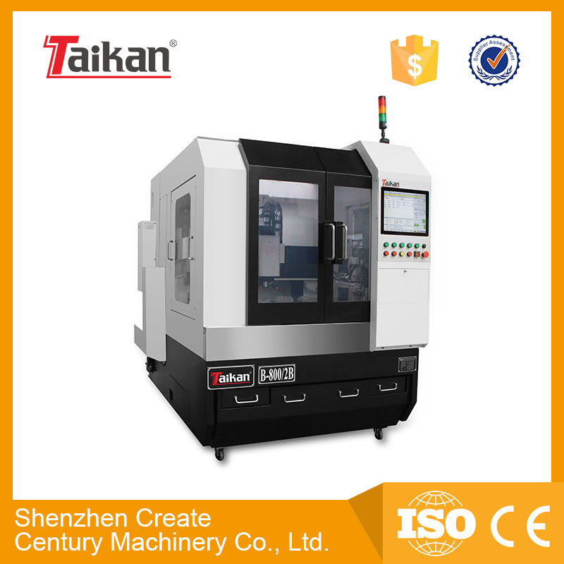 Taikan cnc two spindle glass machine B-800/2B for glass/small metal/ceramic engraving