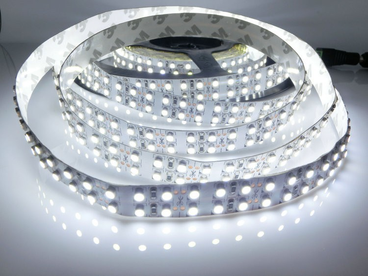 SMD 3528 LED strip,12V flexible light 240LED/m,White, Warm White