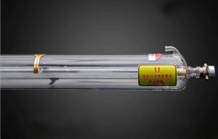 1250/1450/1650/1850/2000mm CO2 laser tube warranty 6-10months 5000-10000 hours lifetime