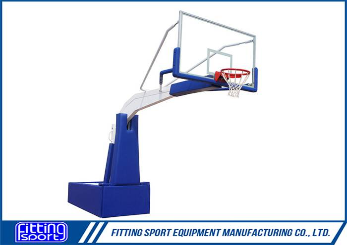 Spring Assisted FIBA Standard Full Size Basketball Stand