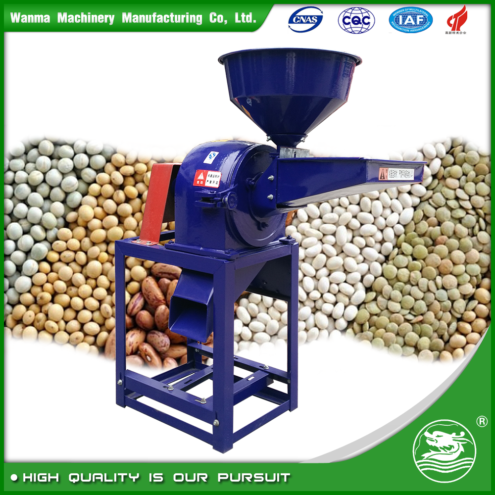 WANMA6143 Best Quality Corn Maize Grain Flour Mill Grinder Machine