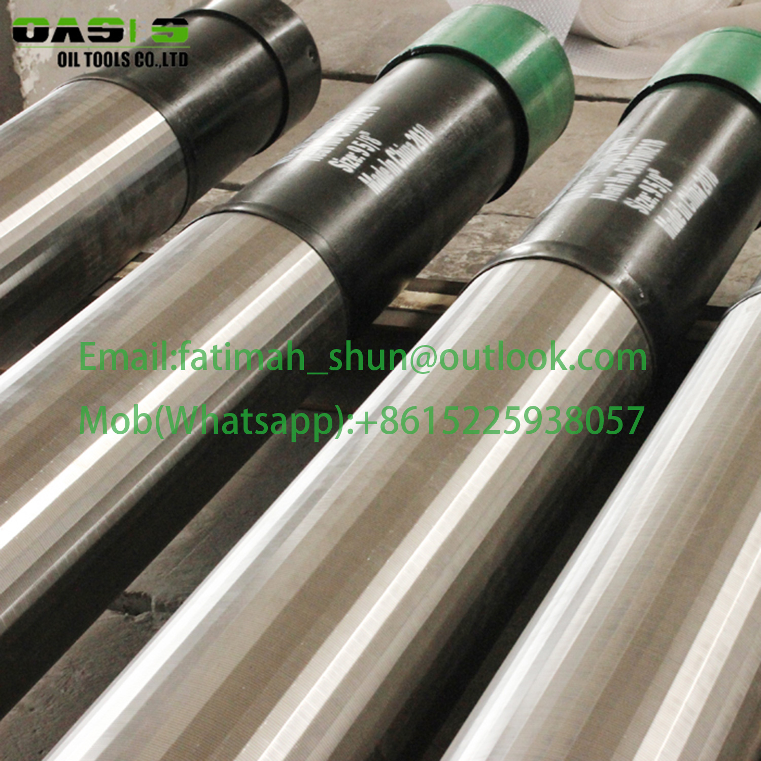 2018 newest well screen Jacket pipe based well screen/ double layer perforated pipe