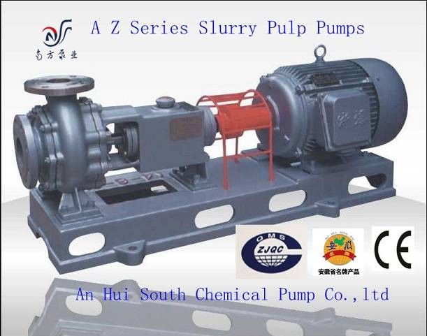 Hot sell AZ Paper pulp slurry pump