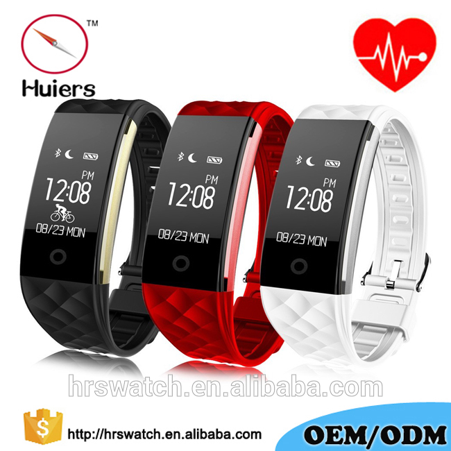 IP67 waterproof USB charger heart rate activity tracker fitness health band smart sport watch