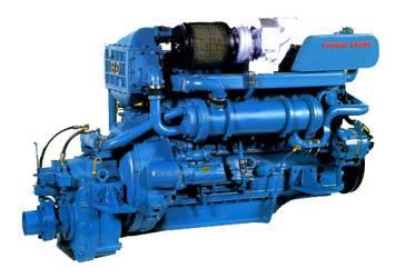 Marine Propulsion Diesel Engine (H6D2TA)