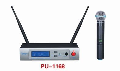 PU-1168 Sync IR UHF Wireless Microphone