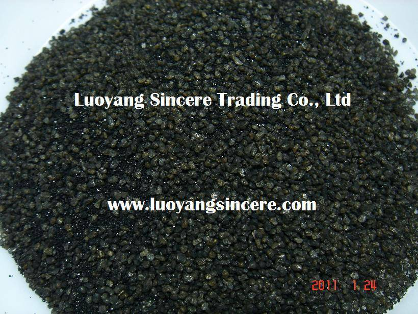 Ladle Filler Sand, Approaching Flowing Sand