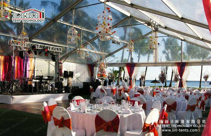 Hot Sale Clear tent / Transparent Tent / Clear top tent  For All Occassion