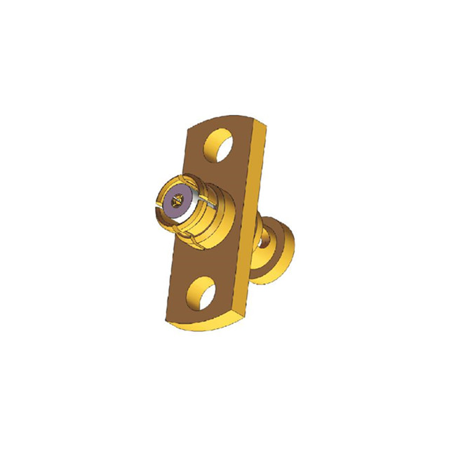 Low Cost SMP Manufacturer Female Flange Mount RF Coaxial Connector for Cable SFF-50-1, RG178, EF178
