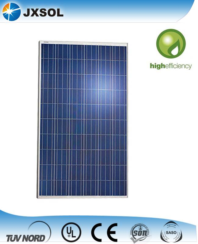 China Tangshan supply 260W poly solar panel with high quality