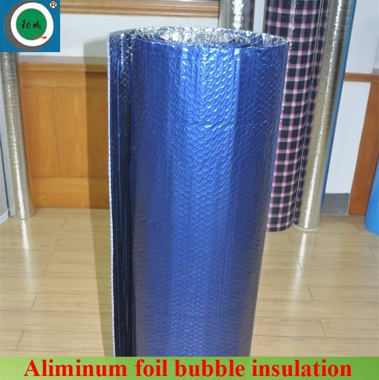 heat reflective bule aluminum film bubble car sunshade material