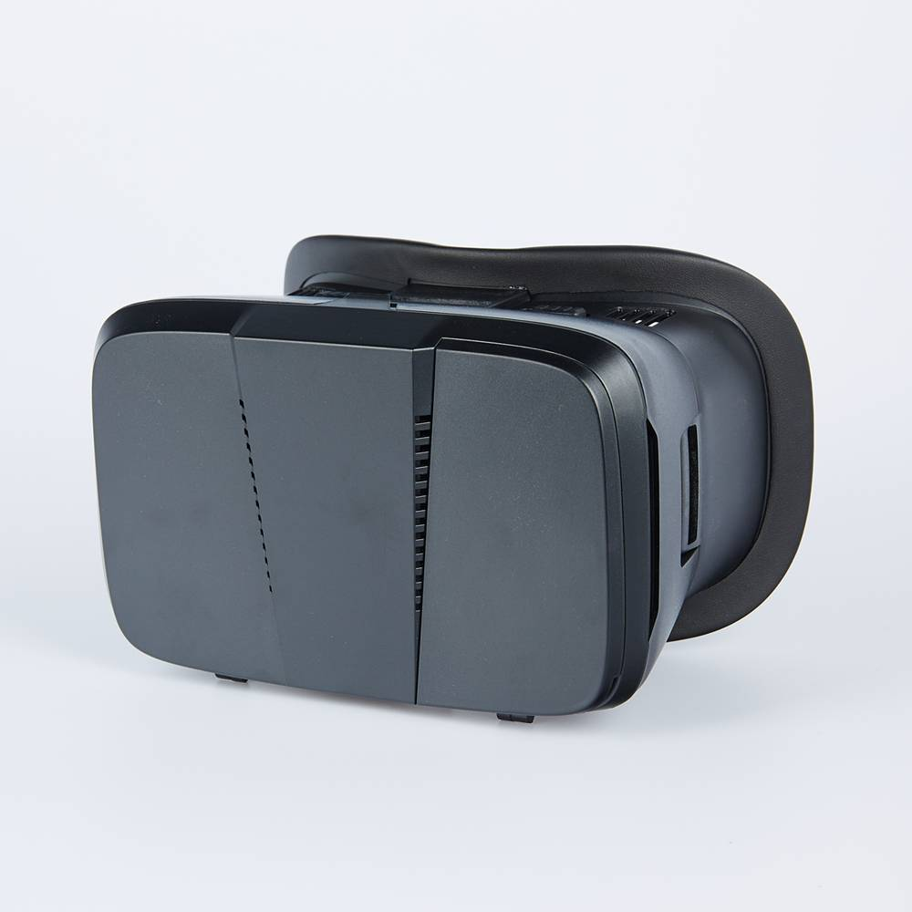 Lightest Plastic Virtual Reality 3D Video Glasses