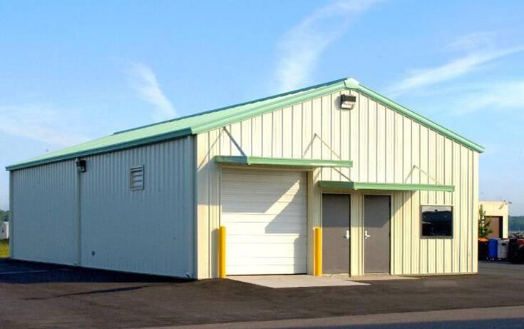 Prefab Light Steel Sturcture Coal Mining Storage Building