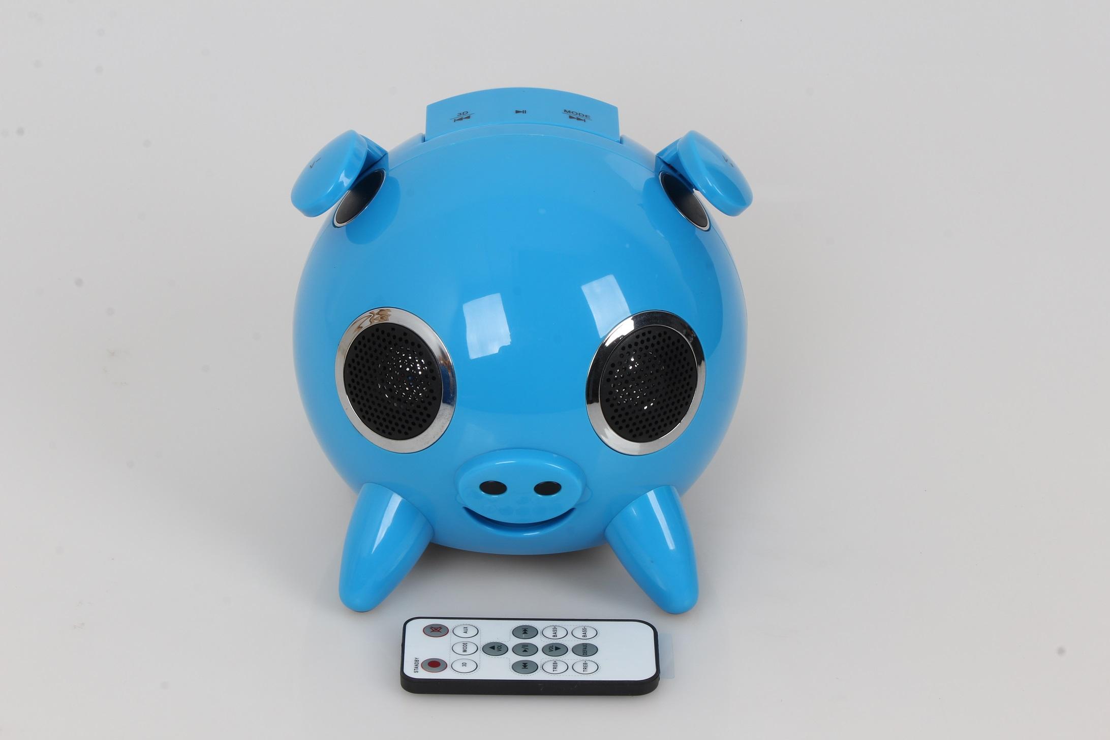 Cartoon pig HI-FI Bluetooth Speaker H-168