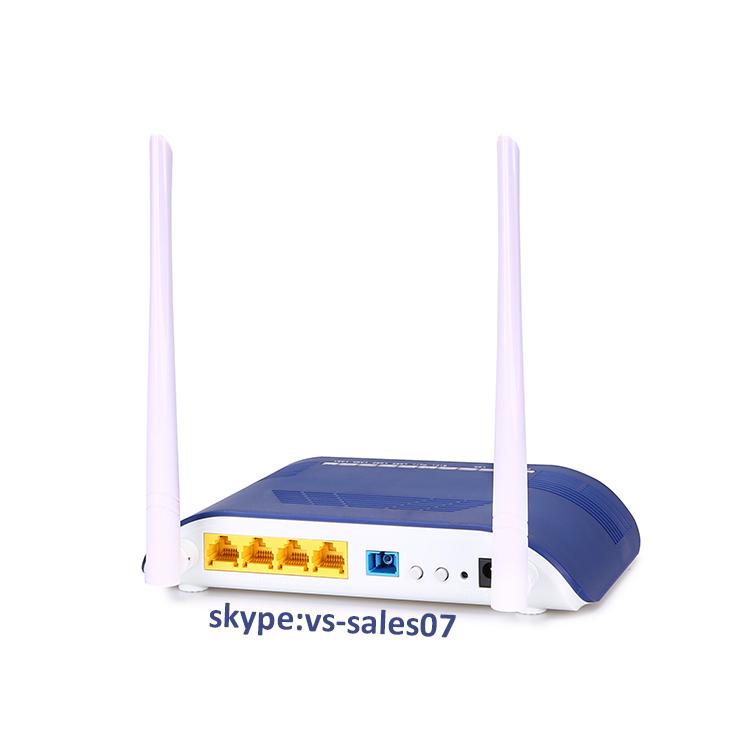 FTTH 4GE LAN port EPON ONU with wifi wireless