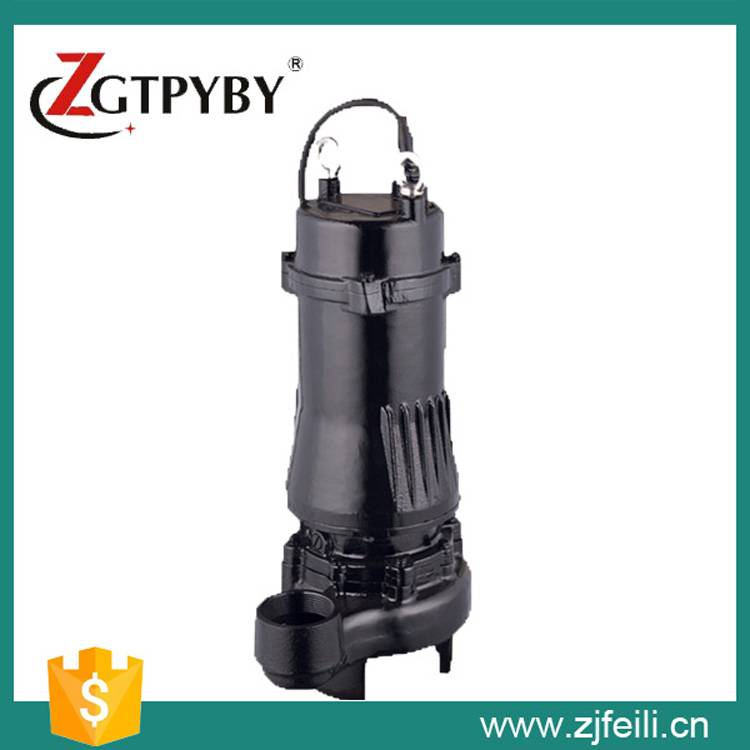 Wholesale cast iron submersible sewage water pump with cutter