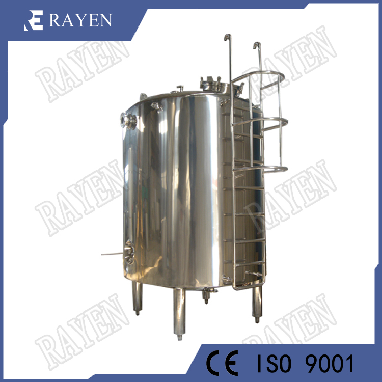 Stainless steel water treatment tank sanitary storage tank
