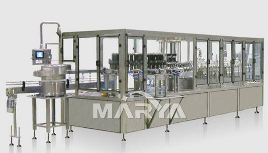 Plastic Bottle I.V.infusion Washing, Filling and Sealing Machine