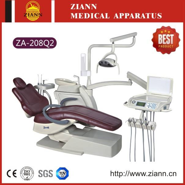 Hot-selling Dental Chair Unit ZA-208Q2 with Nine Memories Control System
