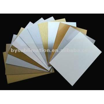 60 * 80cm blanco / astilla hoja de aluminio, hoja de aluminio sublimación, transferencia de calor de