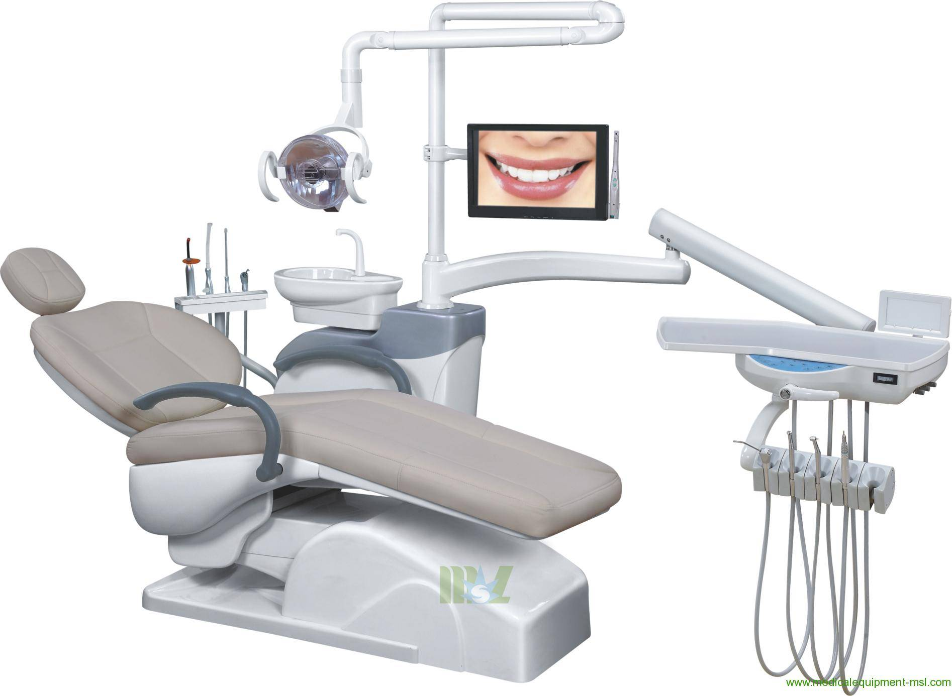 top-mounted dental chair | ergonomic dental chair MSLDU17 for sale