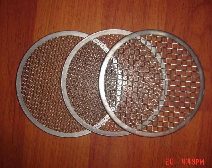 Disc filter elements