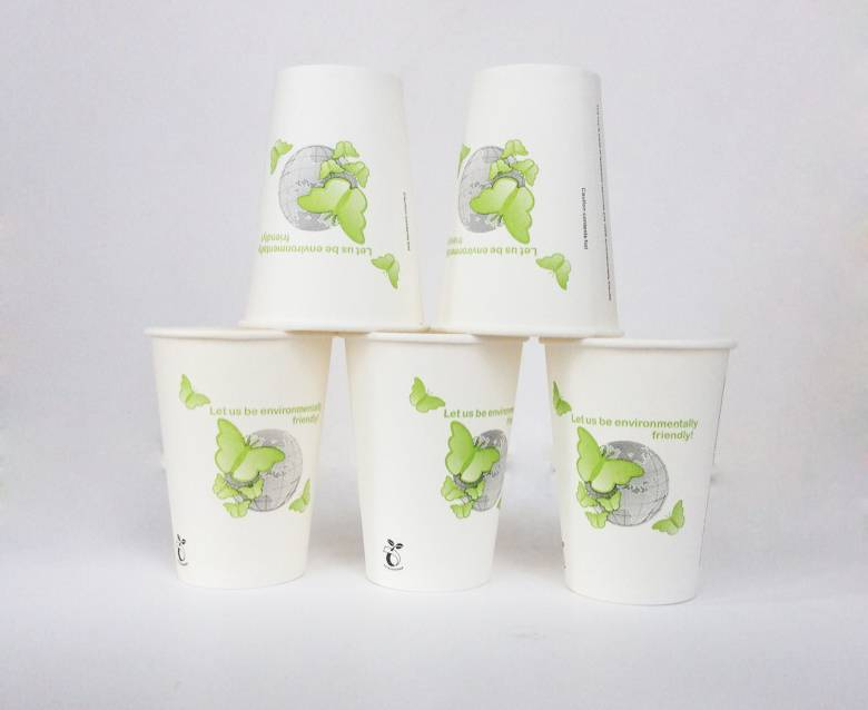 Biodegrade-PLA Hot Coffee Paper Cup