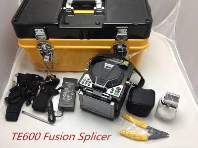 Optical fiber fusion splicer TE600 complete kits splicing machine