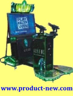 Aliens Shooting Games,Coin Operated Games,Arcade Games,Amusement Machine