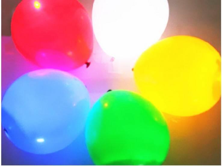 christmas toy LED balloon decoration luminous christmas