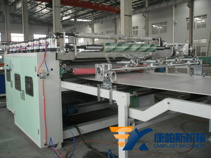 PP/PE Hollow Grid Sheet Extrusion Line
