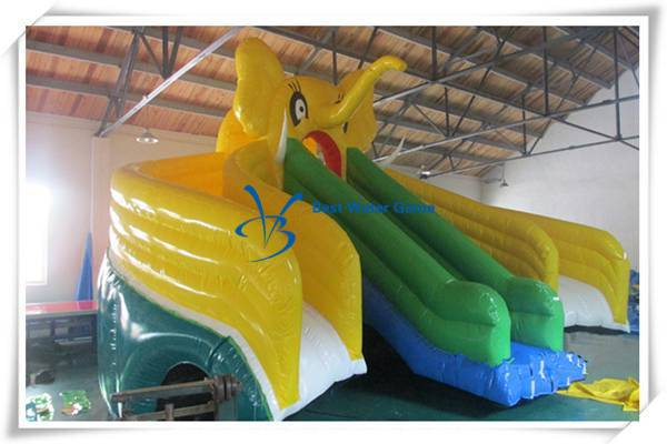 2016 elephant theme Inflatable Water slide for Sale